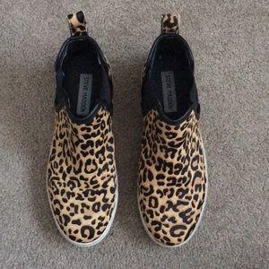Steve Madden Leopard Pony Hair Sneakers